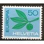 Suiza Año1965 Yvert N°758 Serie De 1v. Mint Goma Original