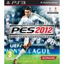 Juego Ps3 Pes 2012 Futbol C/ Caja Y Manuales