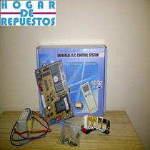 Plaqueta Y Control Remoto Universal Para Aire Acondicionado