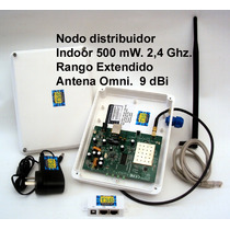 Access Point 2,4 Ghz, 500 Mw.,nodo Indoor, De Alta Ganancia