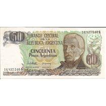 Billetes 50 Pesos Argentinos Nuevos