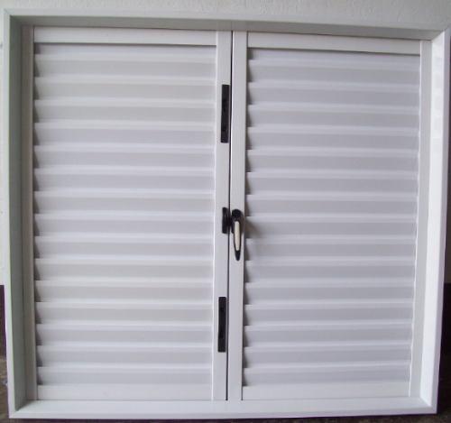 Postigon ventana aluminio blanco 1 20x 1 10 nuevo otros for Precio de aluminio