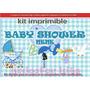 Kit Imprimible Candy Bar Baby Shower Nenes Juegos Cotillón