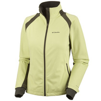 Campera Shoftshell Columbia Tectonic Impermeable Mujer Run