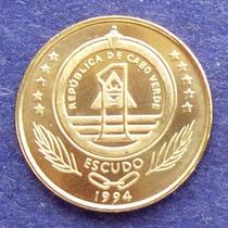 Cabo Verde - Moneda 1 Escudo 1994 - Tortuga ¡ Sin Circular !