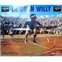 Poster Guillermo Vilas Tenis La Gran Willy Revista Grafico