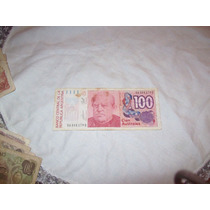 Billete 100 Australes Banco Central De La Republica Argentin