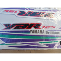 Yamaha Ybr 125 Juego Calcos Repuesto Simil Original