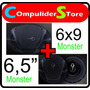 Combo Juego De Parlantes Monster 6x9 320 W + 6,5 250 W