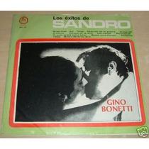 Gino Bonetti Los Exitos De Sandro Vinilo Argentino