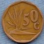 Sudafrica 50 Cents 1995 * Republica * Planta *