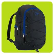 Bolso Mochila Dunlop Nativa Black Acolchada Salida Auricular