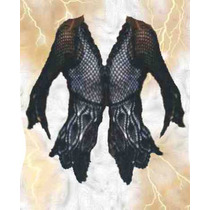 Saco Crochet Color Negro Ó Blanco Talle:1~2~3~4 Tejido