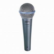 Shure Beta 58a Micrófono Vocal Dinámico Supercardide Xlr