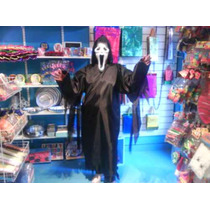 Disfraz Scream Screem Tunica Talle Chico Niños Halloween