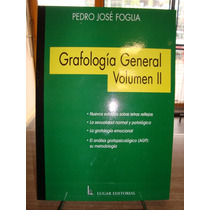 Grafologia General Volumen I Y Ii Foglia