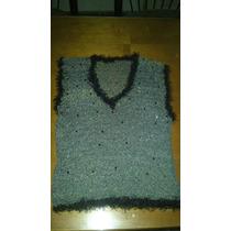 Musculosa Tejido Al Crochet Artesanal Talle S