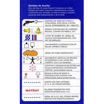 Tabla De Señales De Auxilio Seguridad Náutica