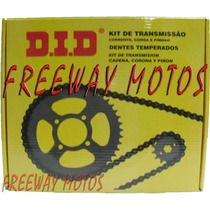 Kit Transmision Yamaha Ybr 125 Did Siempre En Freeway Motos!