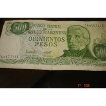 Billete De Quinientos Pesos