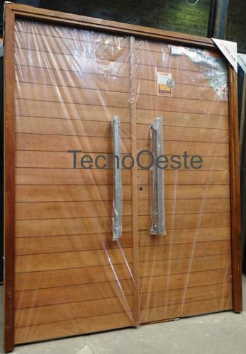 El aviso ha expirado 2062493863 precio d argentina for Puertas dobles de madera