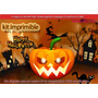 Kit Imprimible Halloween Candy Bar Mascaras Decoracion