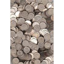 Interesante Lote De 1/2 Kilo De Monedas Argentinas De Niquel