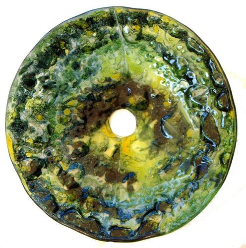 Bachas Para Baño De Vidrio:Bacha De Vidrio De Baño 36 Cm Con Perforación Vitrofusión (Otros) a