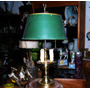 Historical*-antigua Lampara Inglesa Escritorio-3 Luces-envio
