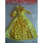 Vestido De Fiesta Para Barbie Princesa Muñeca