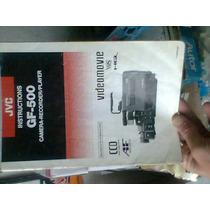 Camara Jvc Gf-500 Instructivo De Uso