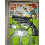 Juego Policia Set En Blister.nuevo Retro De 1980