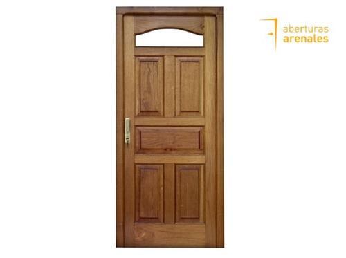 Puerta de madera cedro 0 8 x 2 mts la mejor calidad 11970 for Cuanto sale una puerta