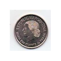 2 Pesos Evita Año 2002 S/c Ma 5072