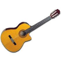 Guitarra Clasica Criolla Microfono Takamine Eg124c Acustica