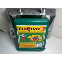 Electrificador Solar 20 Km 12 Volt C Bateria Gel 12vcc7ah #