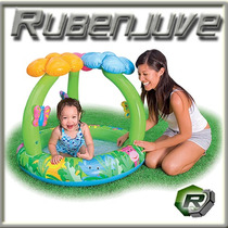Pileta Inflable Intex Para Chicos Jungle Flower