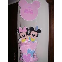 imagenes de piñata de minnie bebe