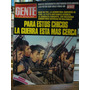 Revista Gente 22 De Abril De 1982. Guerra De Malvinas.