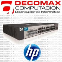 Switch Hp 24 Port Gigabit 10/100/1000 V1410-24g Rack J9561a
