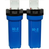Ablandador Filtro De Agua Doble W-s. Para Aguas Muy Duras.