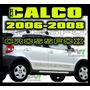 Calco Crossfox 2006 - 2008 Excelencia En Ploteos!