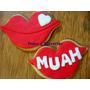 Cookies, Galletitas Decoradas: San Valentin - Enamorados Day