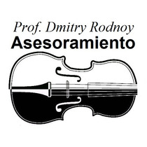 Asesoramiento - Prof. Dmitry Rodnoy - Violin & Cello - Viola