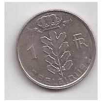 Belgica Moneda De 1 Franco Año 1980 Belgique !!