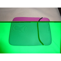 Funda Para Ipad Mini Rosa Elastica Neoprene! Como Nueva!