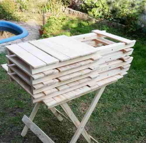 Silla madera plegable oferta de fabrica madera a ars for Fabrica sillas madera