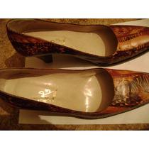 Zapatos De Vestir De Mujer Talle 40 - Impecables -