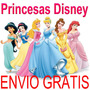 Kit Imprimible Princesas Candy Bar Cumples