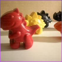 Crayones - Souvenirs - Dinosaurios - Cumpleaños - Pack X 48